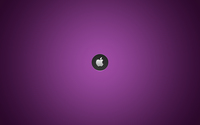 Silver Apple on purple line pattern wallpaper 1920x1200 jpg