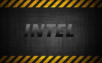 Steel Intel wallpaper