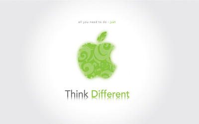 Think different [4] wallpaper