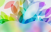 Top of the Apple logo wallpaper 2560x1600 jpg