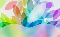 Top of the Apple logo wallpaper 2560x1600 jpg