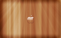 Transperent Apple on wooden panels wallpaper 1920x1200 jpg