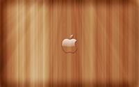 Transperent Apple on wooden panels wallpaper 1920x1200 jpg