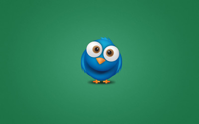 Twitter bird wallpaper