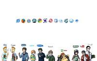 Websites personified wallpaper 1920x1200 jpg