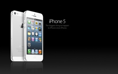 White iPhone 5 wallpaper