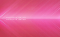 White Windows Seven between pink stripes wallpaper 1920x1080 jpg