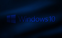Windows 10 transparent logo on fabric folds wallpaper 2560x1600 jpg