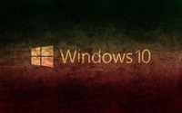 Windows 10 transparent text logo on concrete wallpaper 2560x1600 jpg