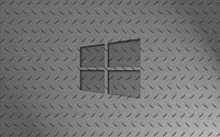Windows 10 transparent logo on metallic floor wallpaper 2560x1600 jpg