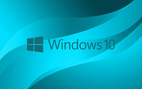 Windows 10 blue text logo on light blue wallpaper 3840x2160 jpg