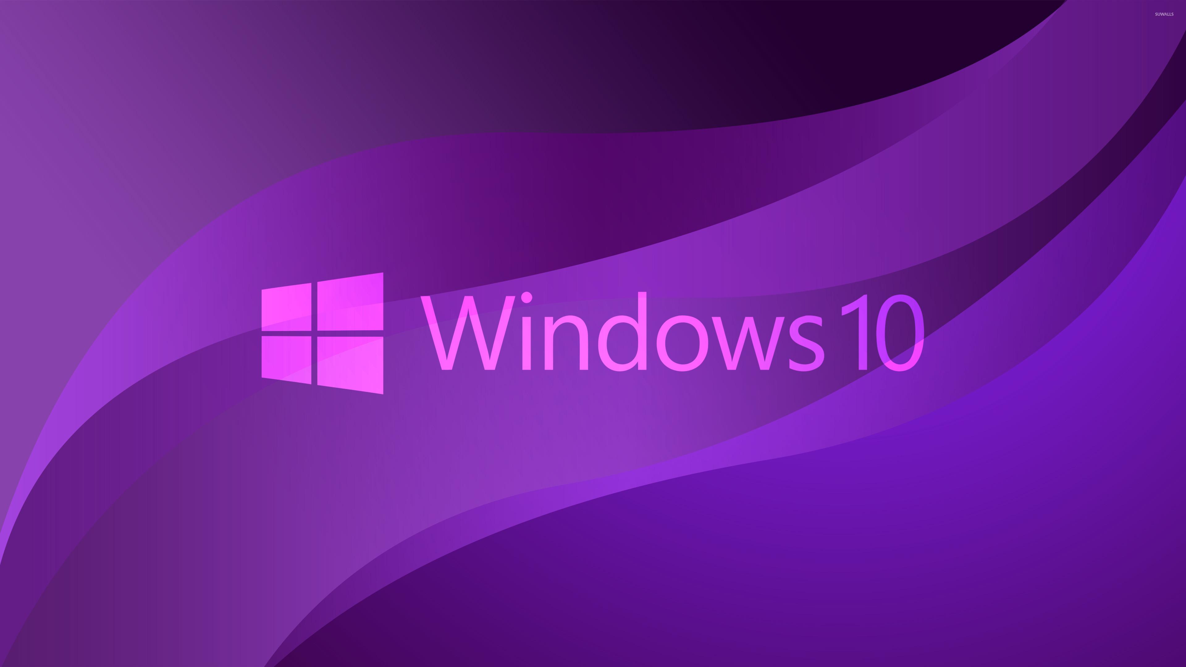 Purple Windows 7 Widescreen