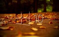 Windows 10 on autumn leaves [3] wallpaper 1920x1080 jpg