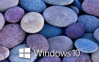 Windows 10 on blue rocks [6] wallpaper 1920x1080 jpg