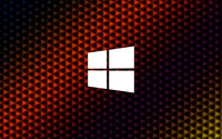 Windows 10 simple white logo on colorful cubes wallpaper 3840x2160 jpg