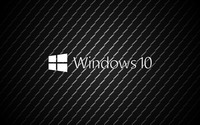 Windows 10 on metal white text logo wallpaper 3840x2160 jpg