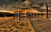 Windows 10 on the boardwalk glass logo wallpaper 1920x1080 jpg