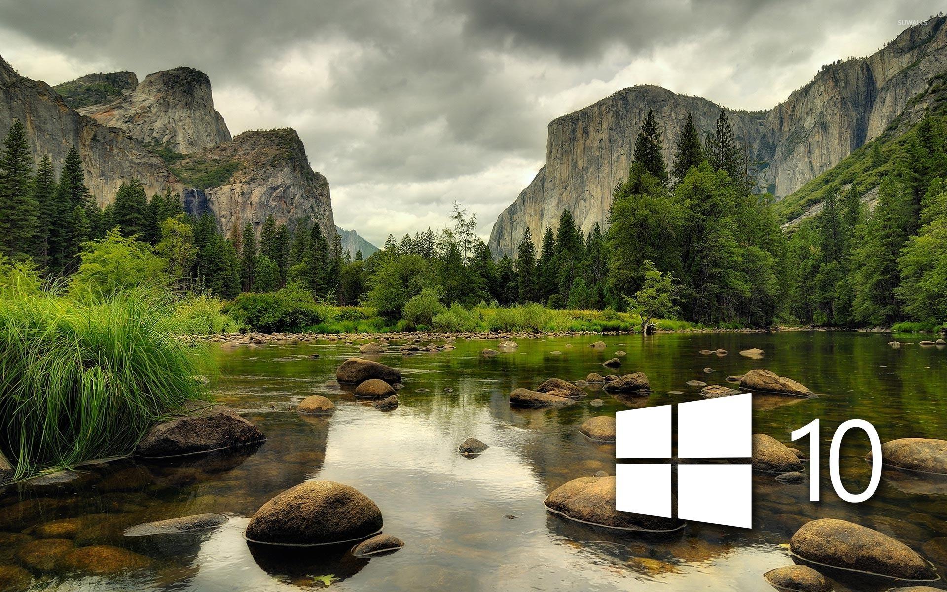 Amazing Wallpaper Mountain Simple - windows-10-on-the-mountain-lake-47119-1920x1200  Gallery_47585.jpg