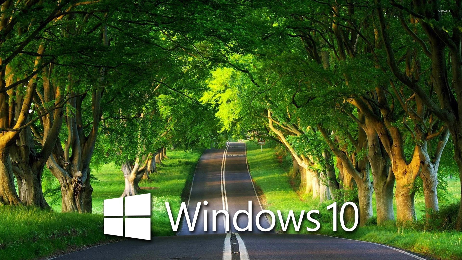 Windows 10 Over The Country Road 4 Wallpaper Computer Wallpapers