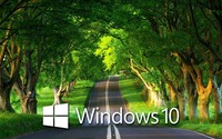 Windows 10 over the country road [4] wallpaper 1920x1080 jpg