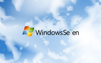 Windows 7 in the clouds wallpaper 1920x1200 jpg