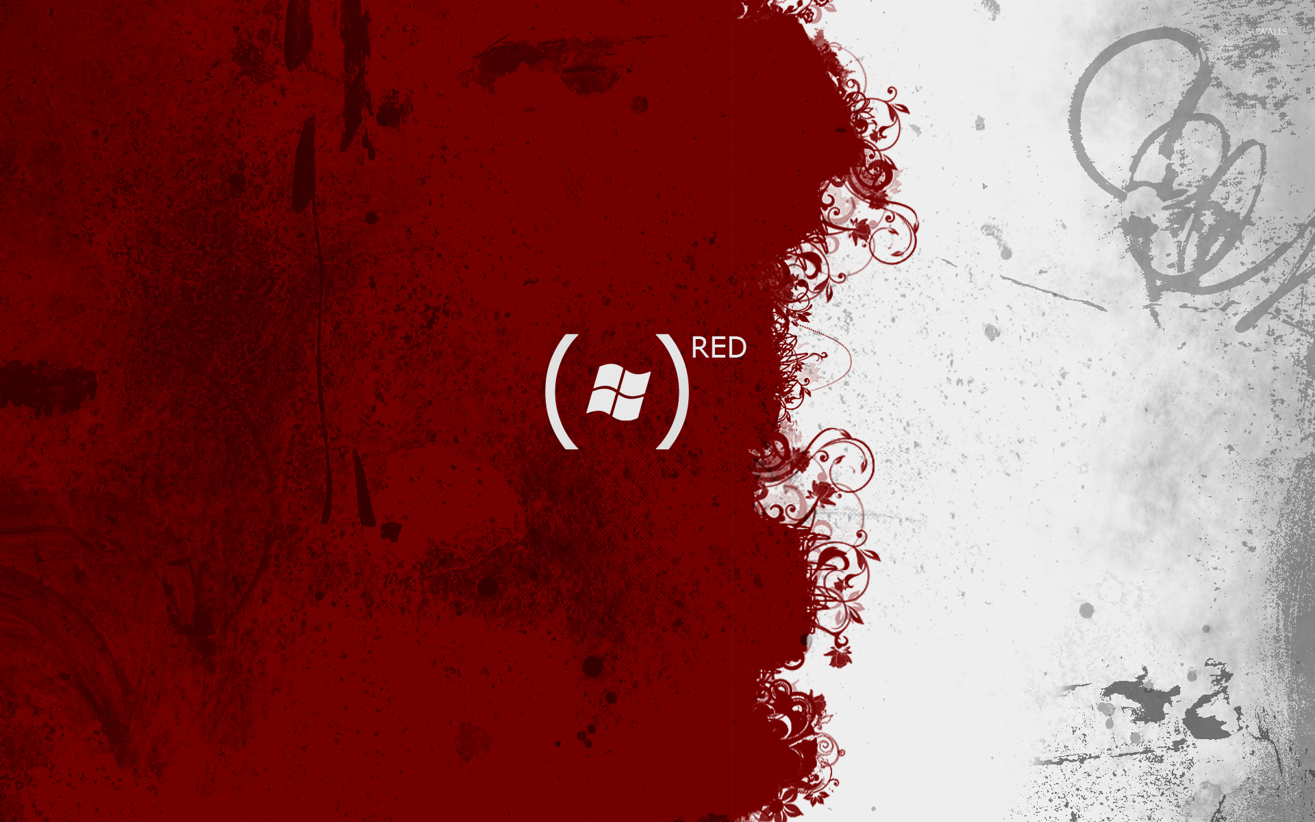 Windows 7 Red Wallpaper Computer Wallpapers 1460