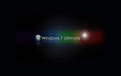 Windows 7 Ultimate [3] wallpaper