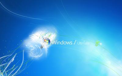 Windows 7 Ultimate [2] wallpaper