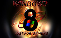 Windows 8 - Just for gamers wallpaper 2560x1440 jpg
