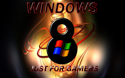 Windows 8 - Just for gamers wallpaper