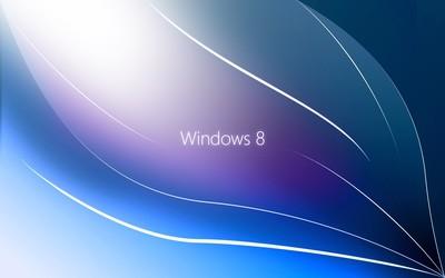 Windows 8 leaf wallpaper