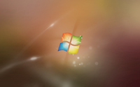 Windows logo on blur wallpaper 1920x1200 jpg