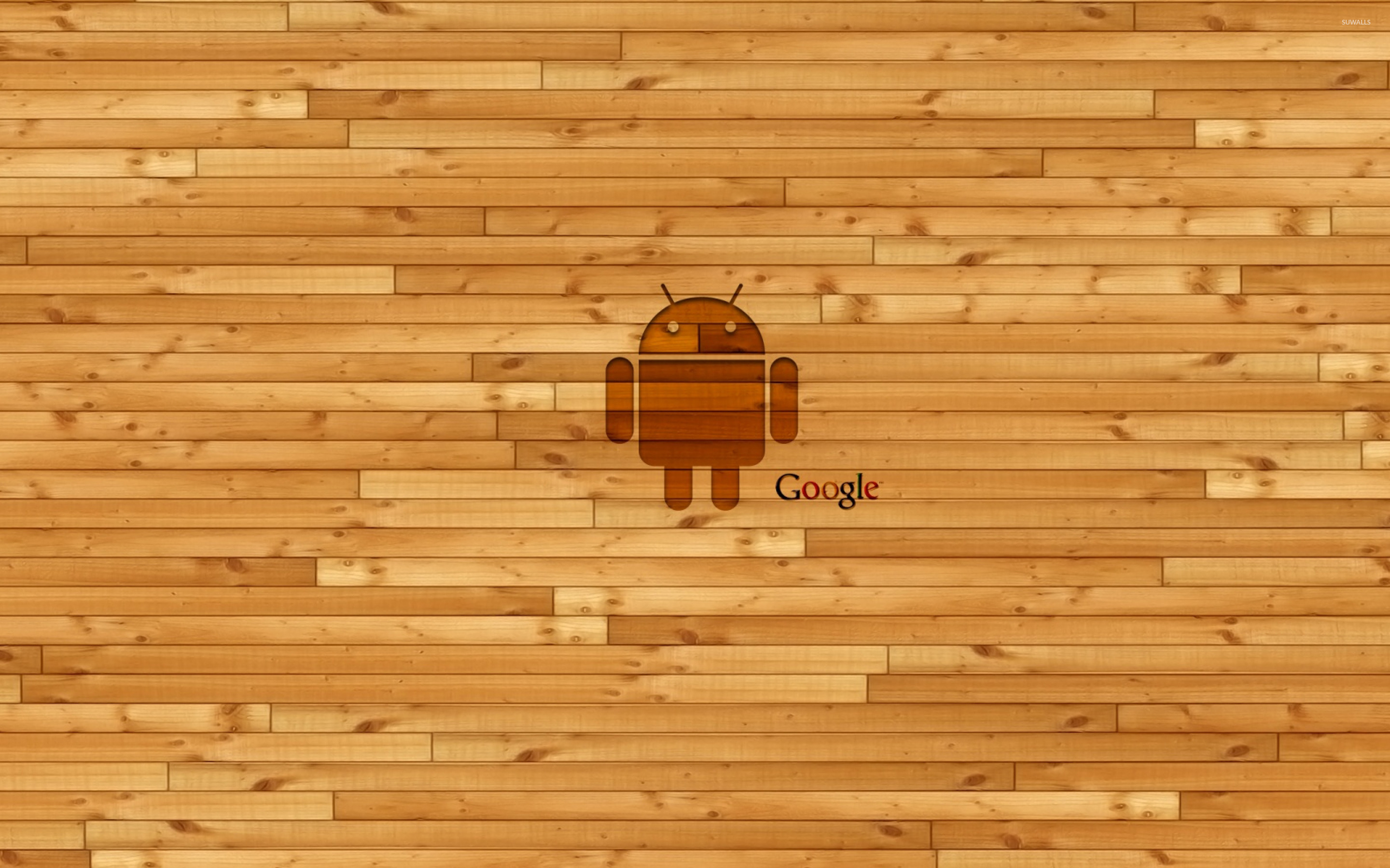 Cool Wallpaper Android Wood - wooden-android-and-google-22822-2880x1800  Gallery_311982      .jpg