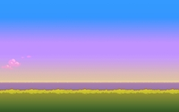 8-bit sunset [2] wallpaper 1920x1080 jpg