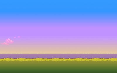 8-bit sunset [2] wallpaper