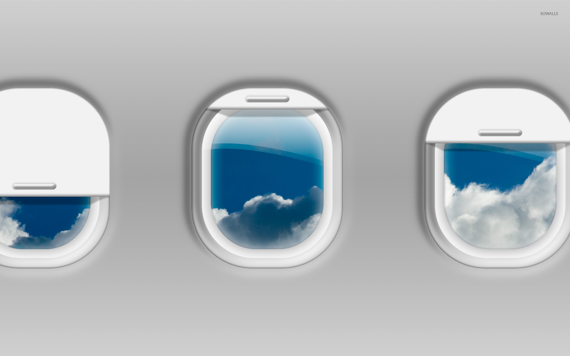 Airplane Windows Wallpaper Digital Art Wallpapers 24679