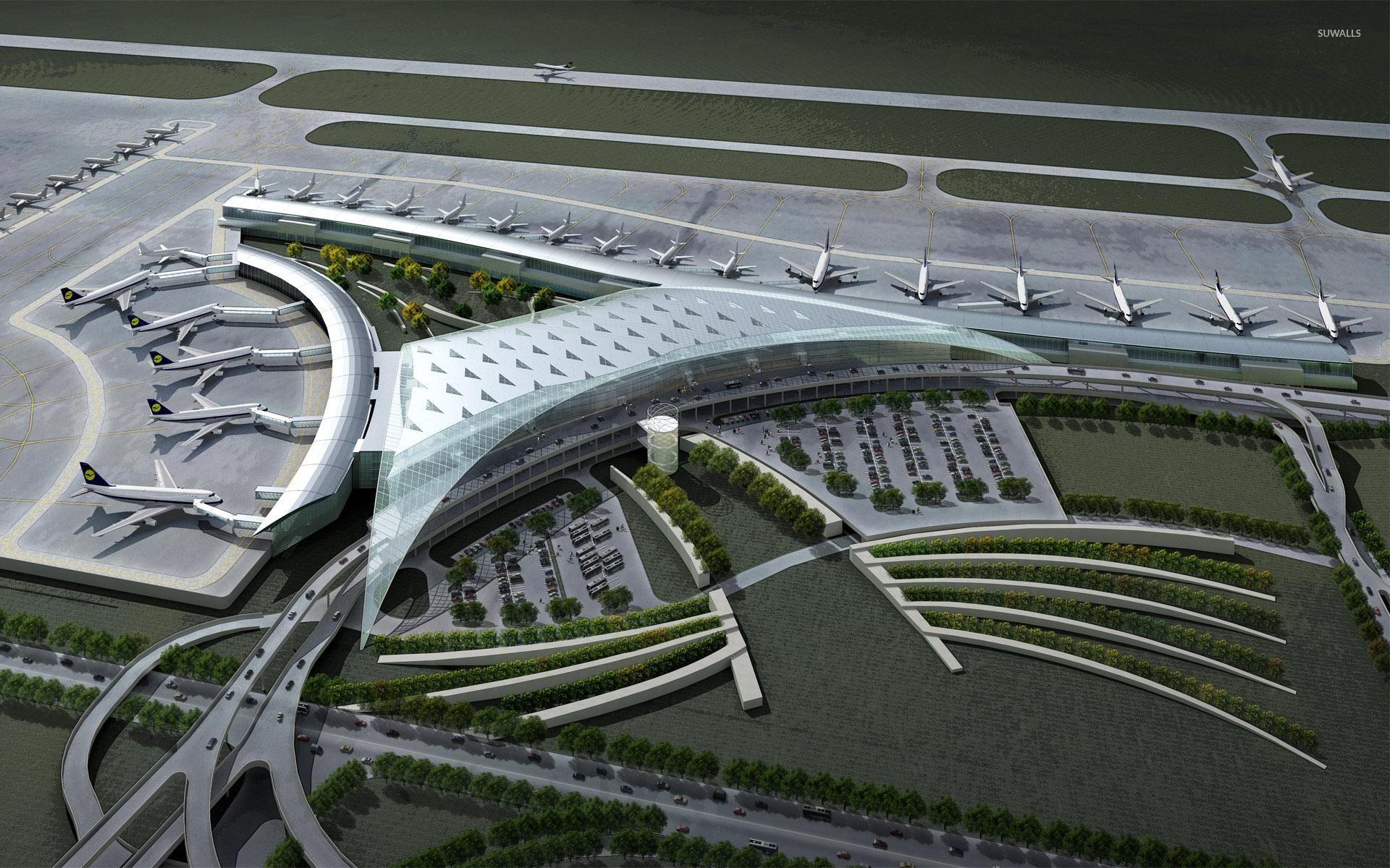 Airport [2] wallpaper - Digital Art wallpapers - #28153