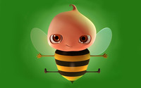 Baby bee wallpaper 1920x1200 jpg