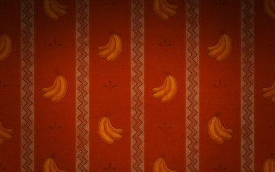 Banana pattern wallpaper