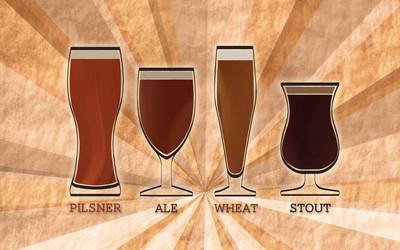 Beer types wallpaper