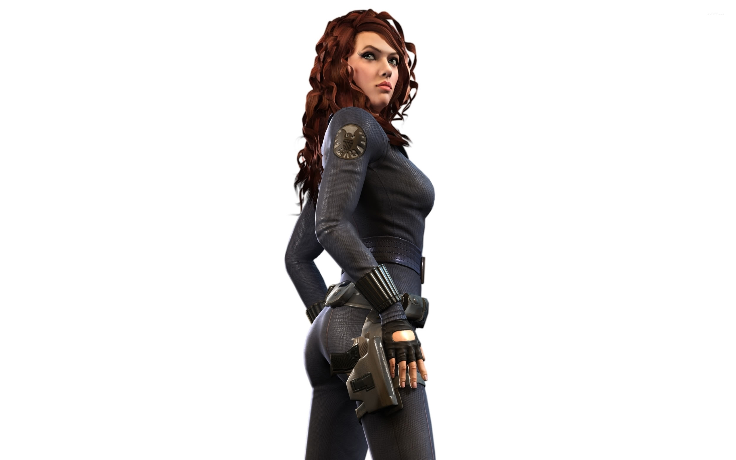 Black Widow Wallpaper Digital Art Wallpapers 42382