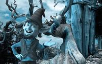 Blue elf in the woods wallpaper 1920x1080 jpg