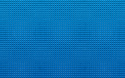 Blue Lego board wallpaper