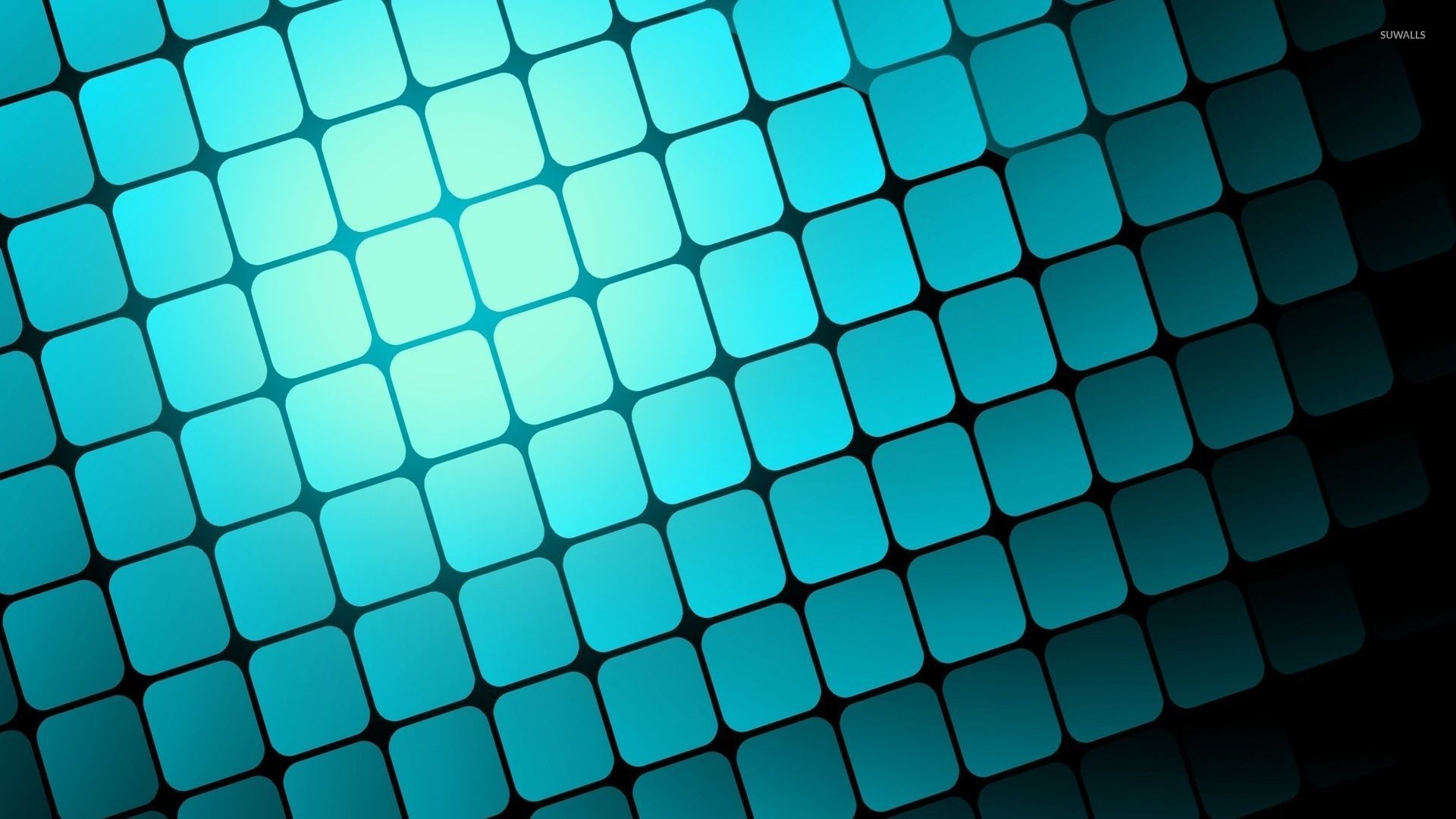blue light squares wallpaper digital art wallpapers 54150