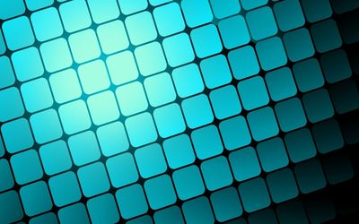 Blue light squares wallpaper
