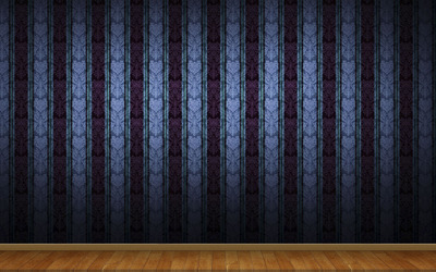 Blue vintage wall pattern wallpaper