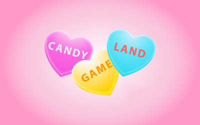 Candy game land wallpaper
