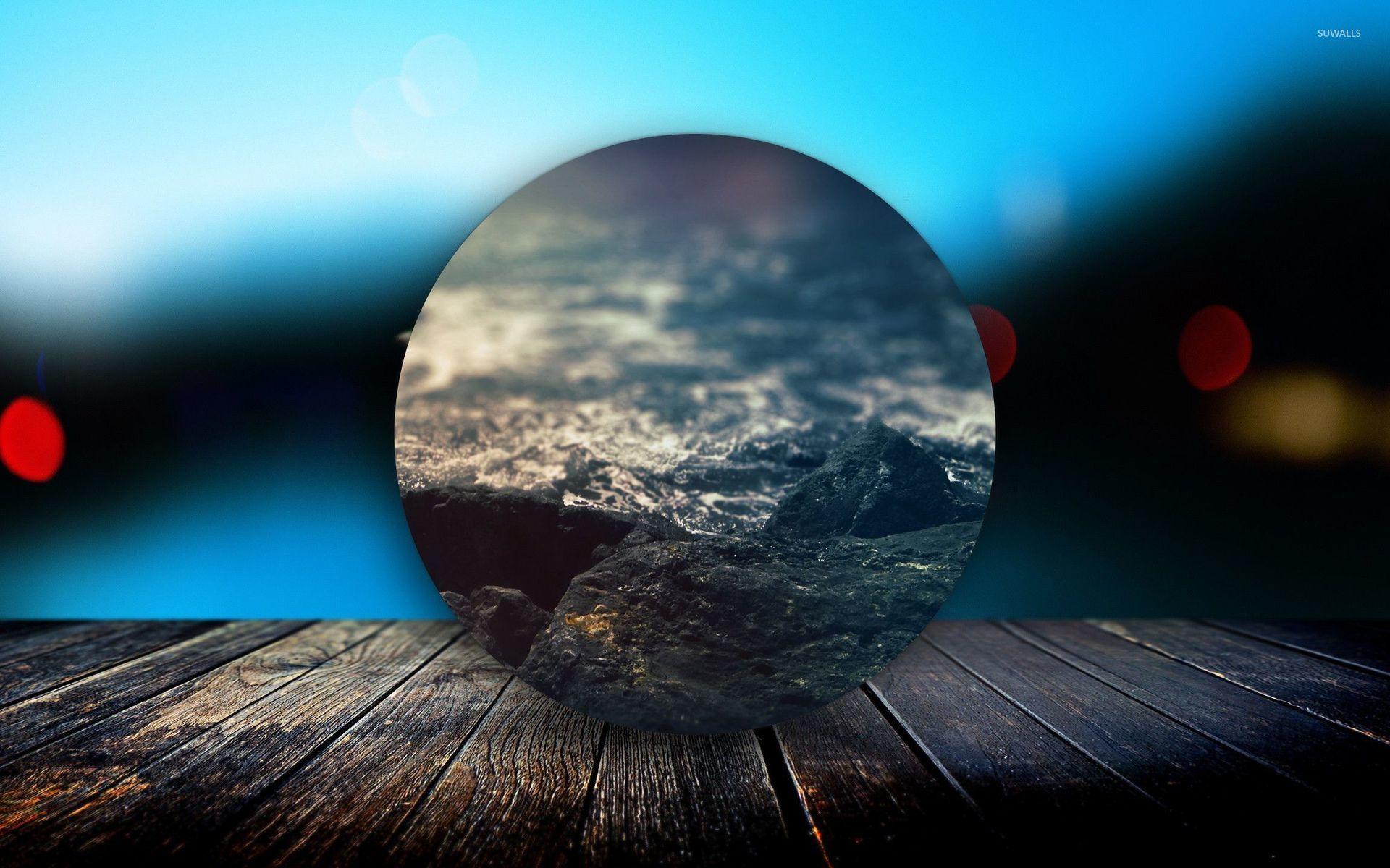 Imagenes Hd 1080p: Circled Beach On The Deck Wallpaper
