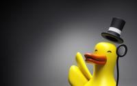 Classy rubber duck wallpaper 1920x1200 jpg