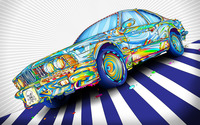 Colorful BMW wallpaper 1920x1200 jpg
